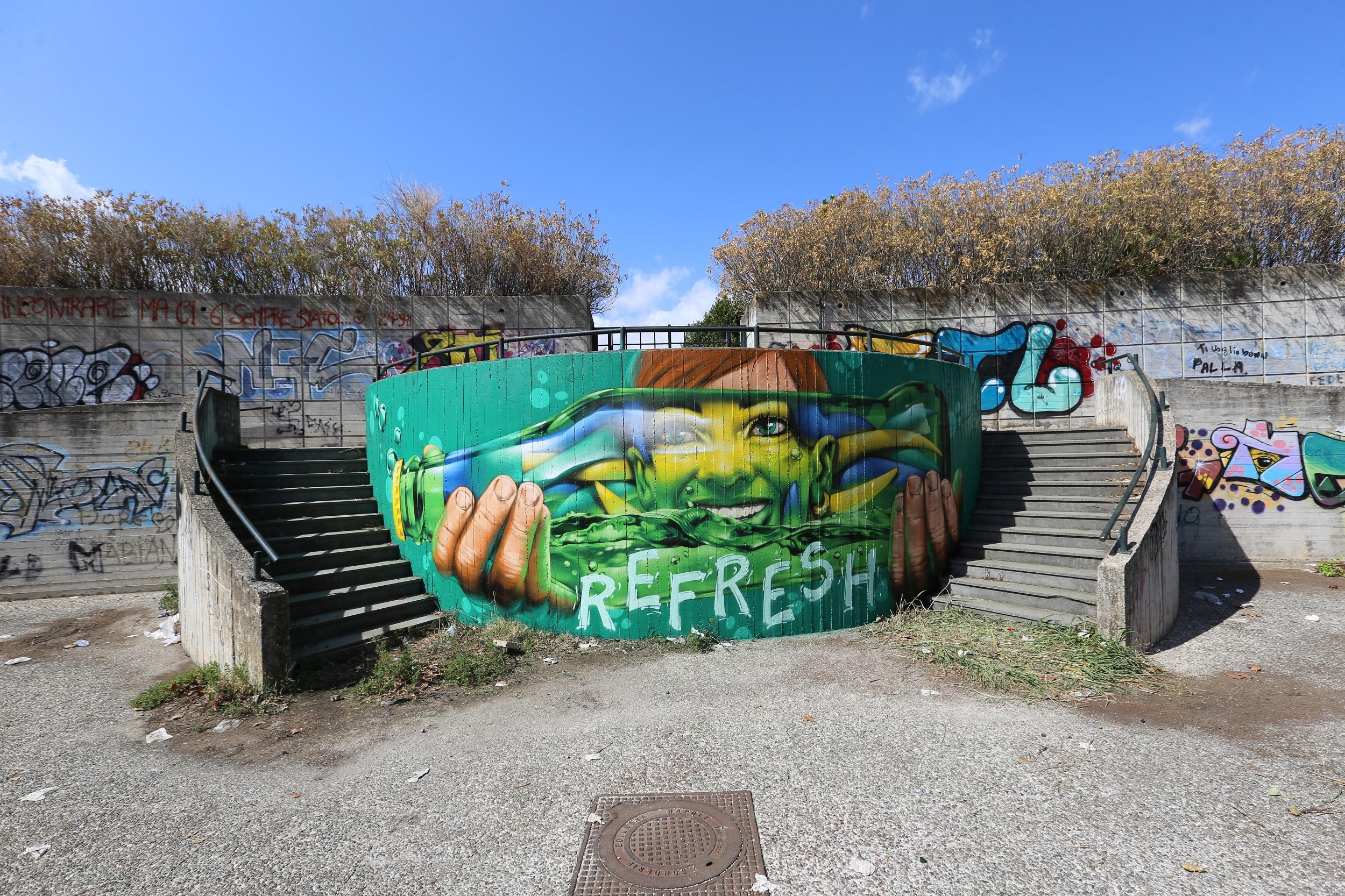 Refresh the City, il progetto di Sprite e Artkademy | Collater.al 6