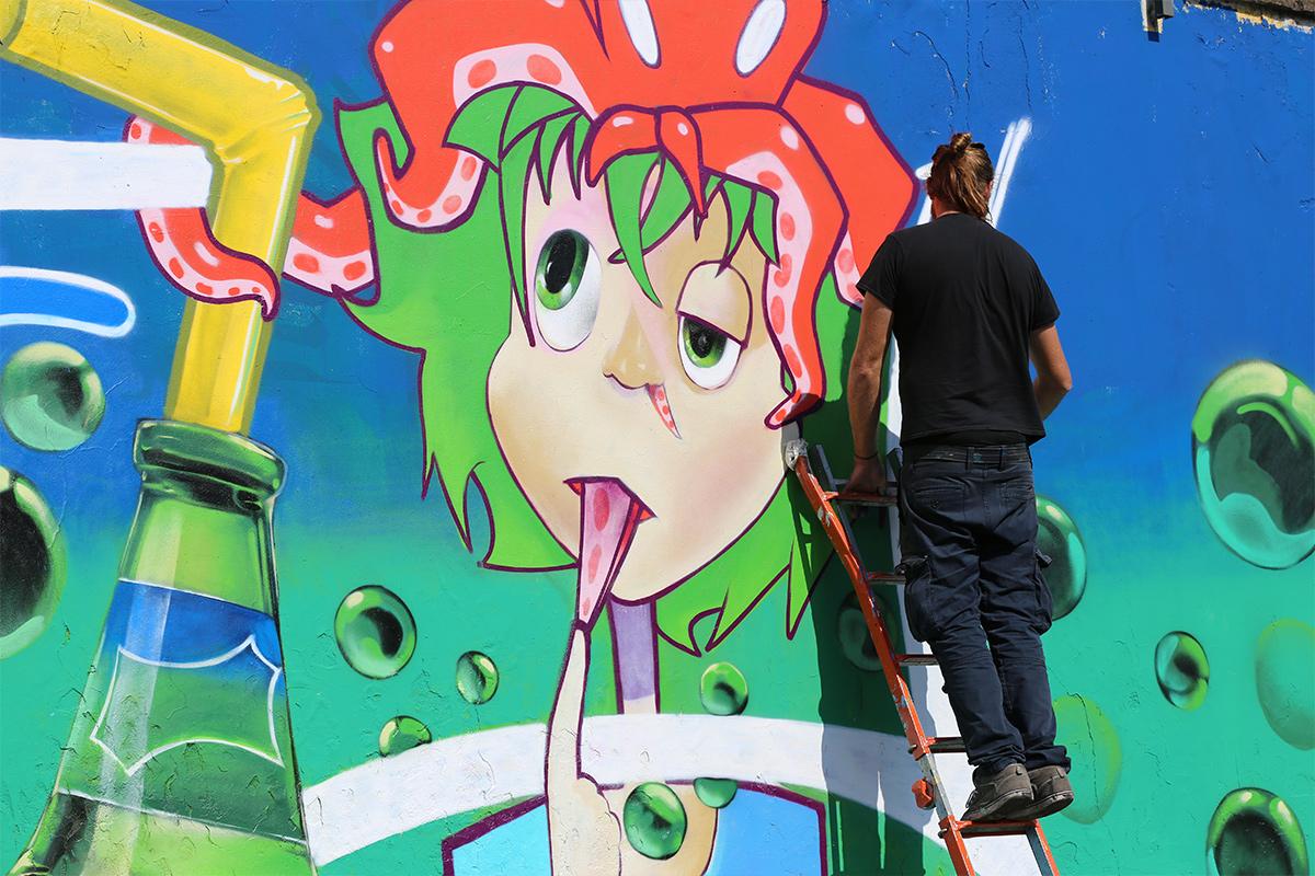 Refresh the City, il progetto di Sprite e Artkademy | Collater.al 9