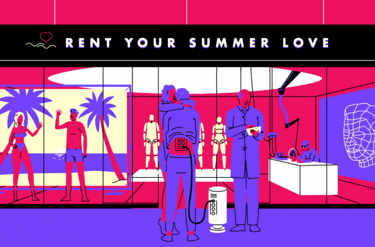 Short video for Breakfast – The Postcard, rent your summer love
