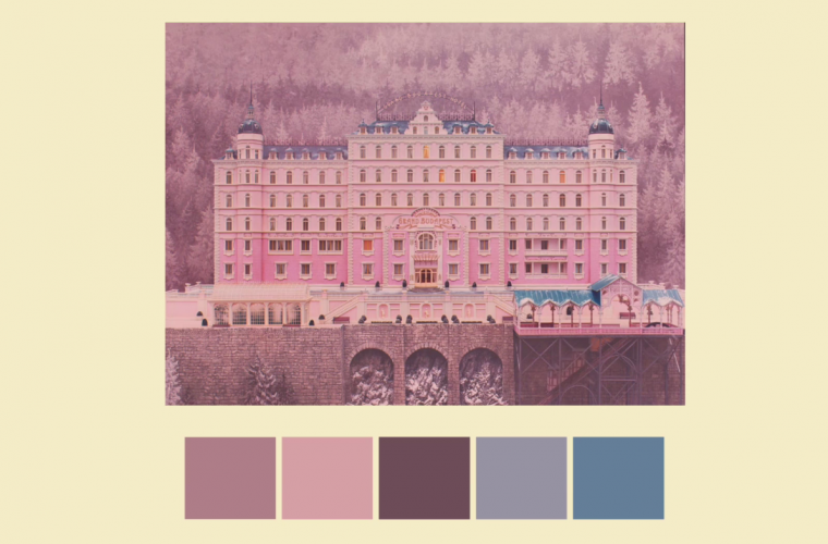 Short video for Breakfast – Tutti i colori di Wes Anderson