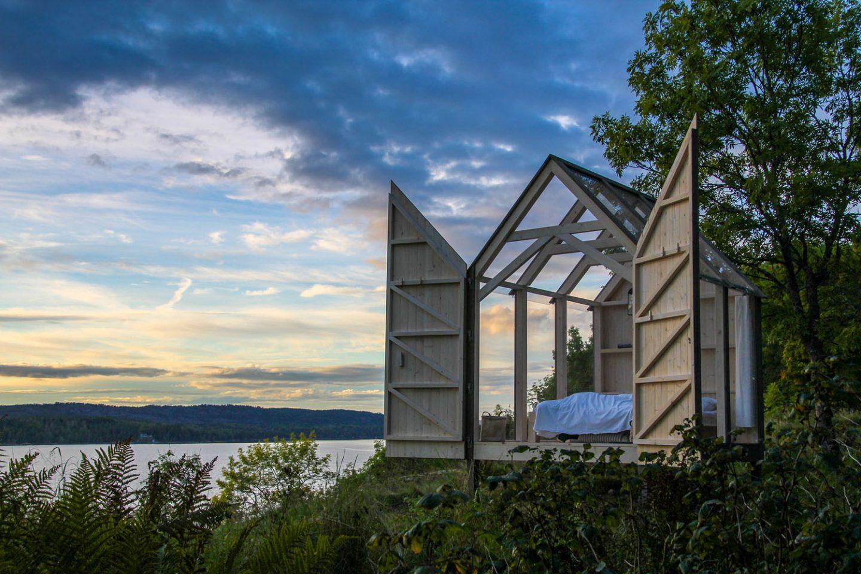 72h cabin piccole case immerse nella natura dell isola di