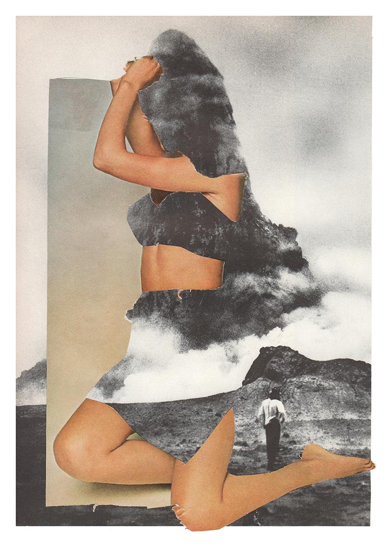 Amanda Durepos trasforma riviste d'epoca in fantasiosi collage | Collater.al 2