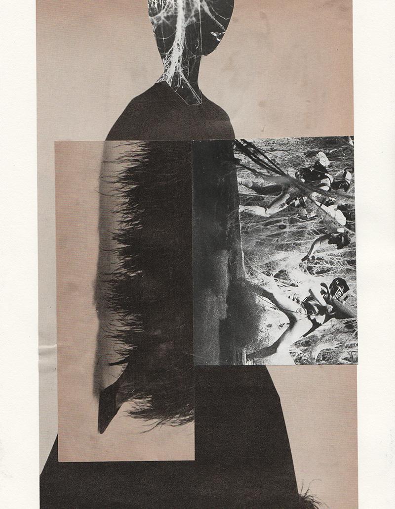 Amanda Durepos trasforma riviste d'epoca in fantasiosi collage | Collater.al 5