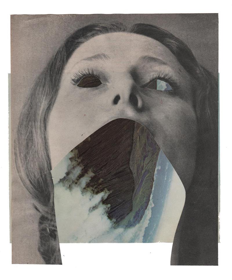 Amanda Durepos trasforma riviste d'epoca in fantasiosi collage | Collater.al 9