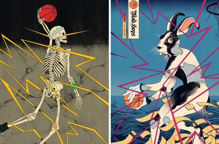 Edo Ball, il progetto a metà tra basket e arte giapponese di Andrew Archer