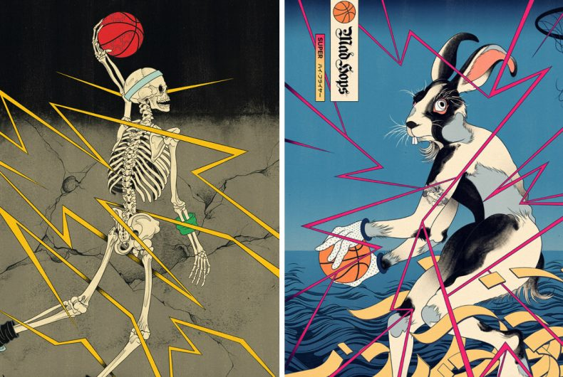 Edo Ball, Andrew Archer project that mix Japanese art and basketball