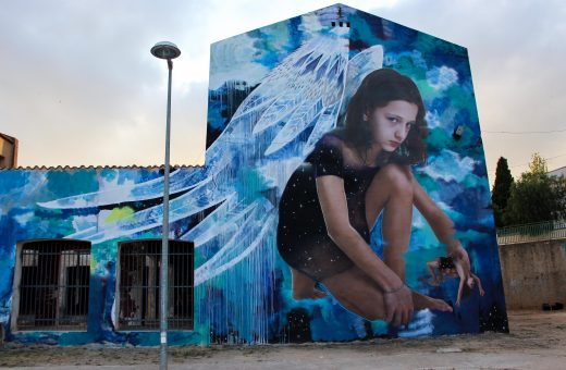 Ego, the new Bifido and Julieta mural that investigates the relationship between man and spirituality