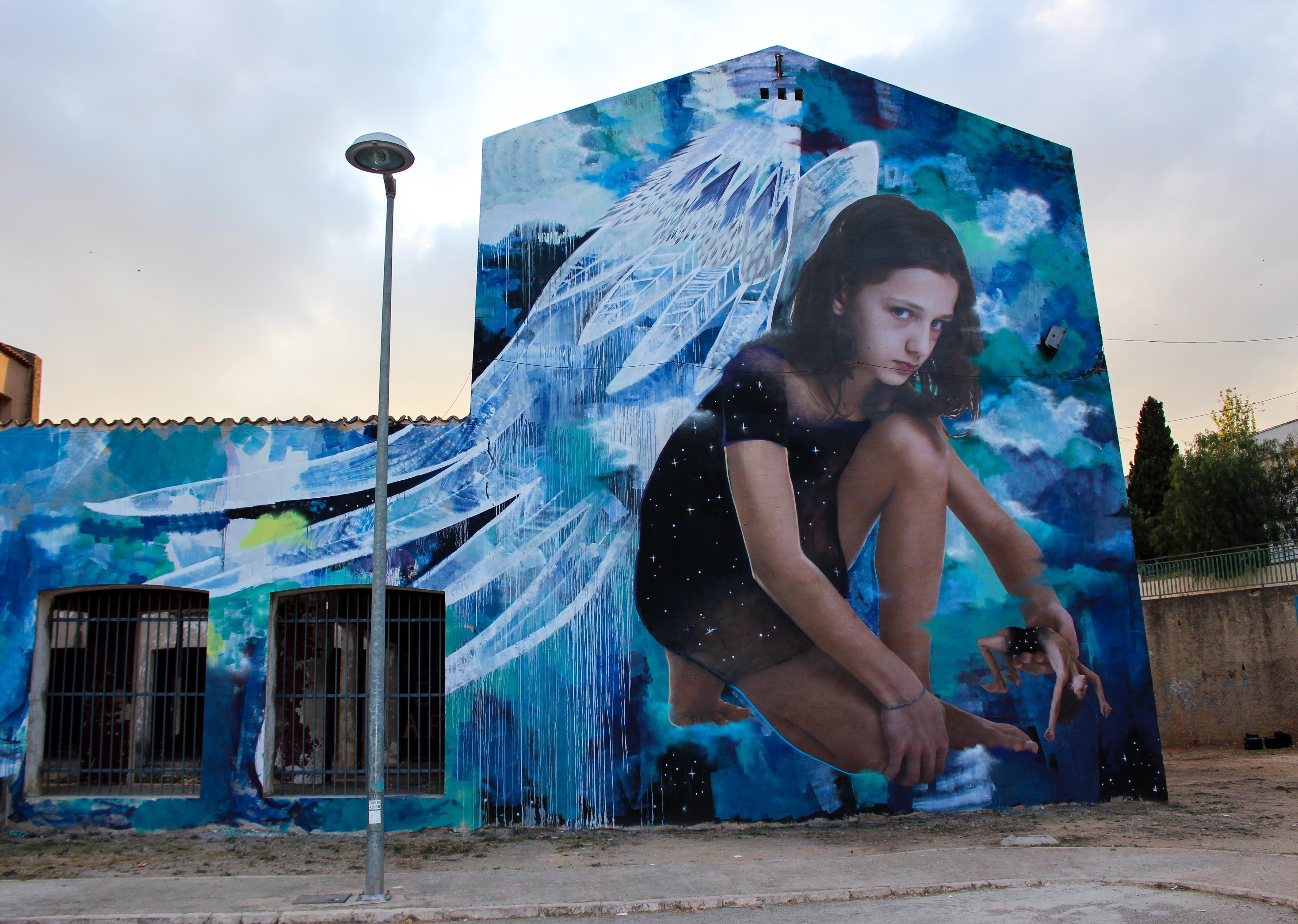Ego, il nuovo murale di Bifido e Julieta | Collater.al 1