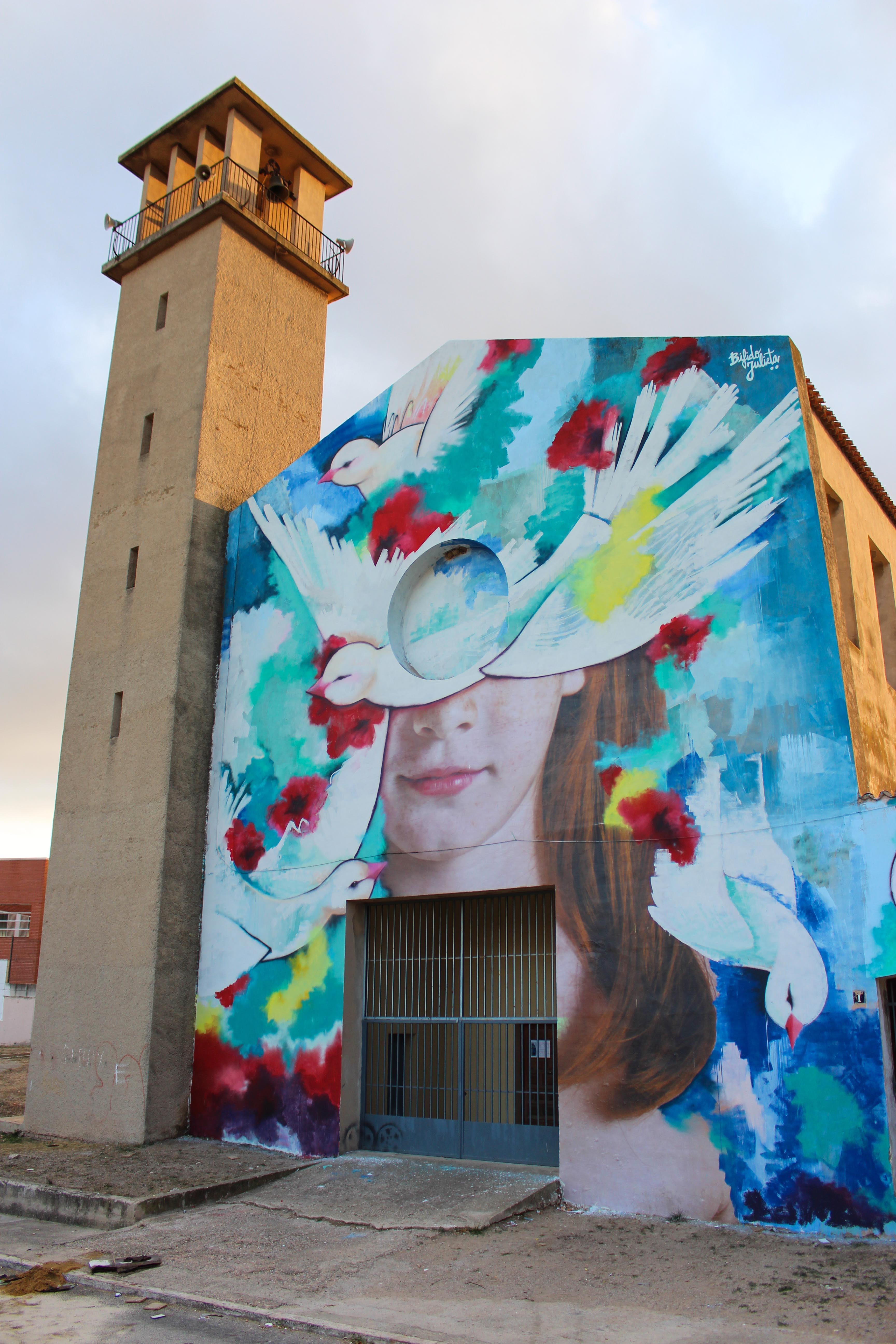 Ego, il nuovo murale di Bifido e Julieta | Collater.al 2