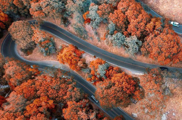 Gli incredibili paesaggi aerei del fotografo Niaz Uddin
