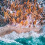 Gli incredibili paesaggi aerei del fotografo Niaz Uddin | Collater.al 10