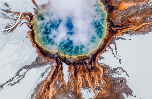 The incredible aerial landscapes by photographer Niaz Uddin