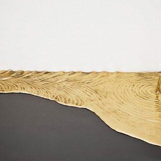 Gold Leaks, l'installazione di Vanderlei Lopes tra arte e alchimia   Collater.al 1