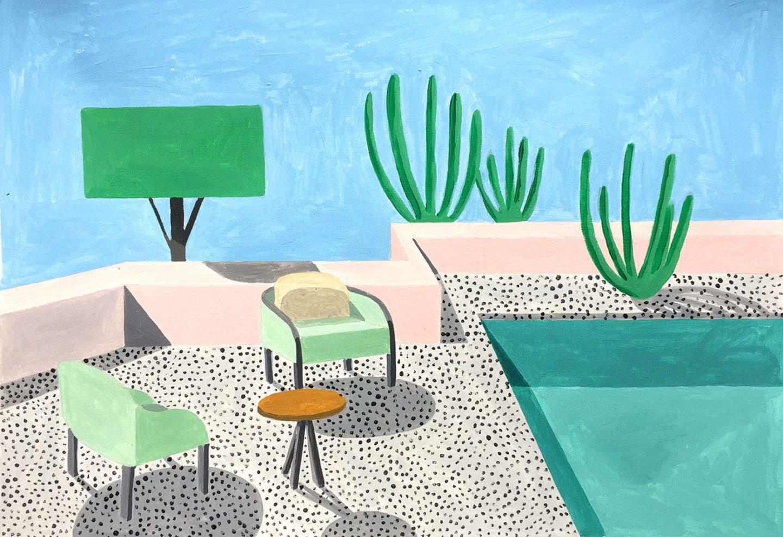 Homes, le case moderniste illustrate da Ana Popescu | Collater.al 11