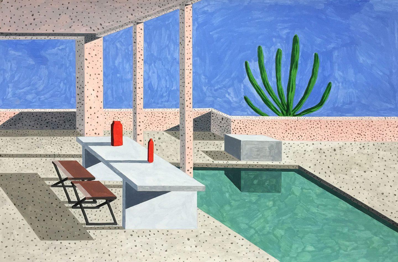 Homes, le case moderniste illustrate da Ana Popescu | Collater.al 2