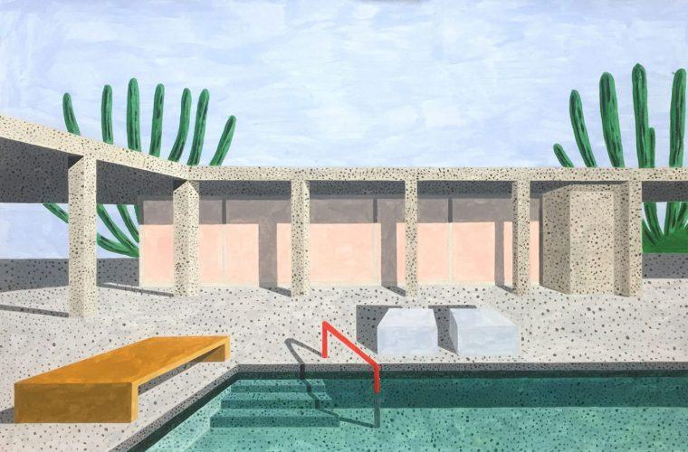 Homes, le case moderniste illustrate da Ana Popescu