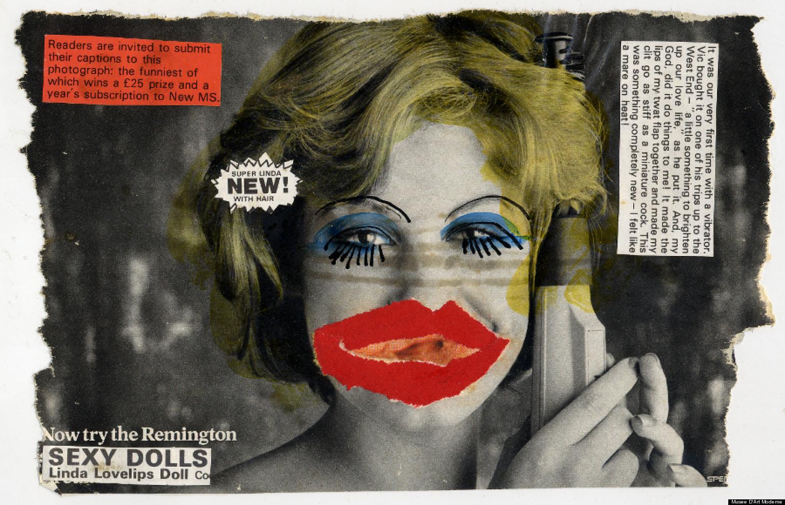I celebri collage sulla figura femminile di Linder Sterling | Collater.al 15