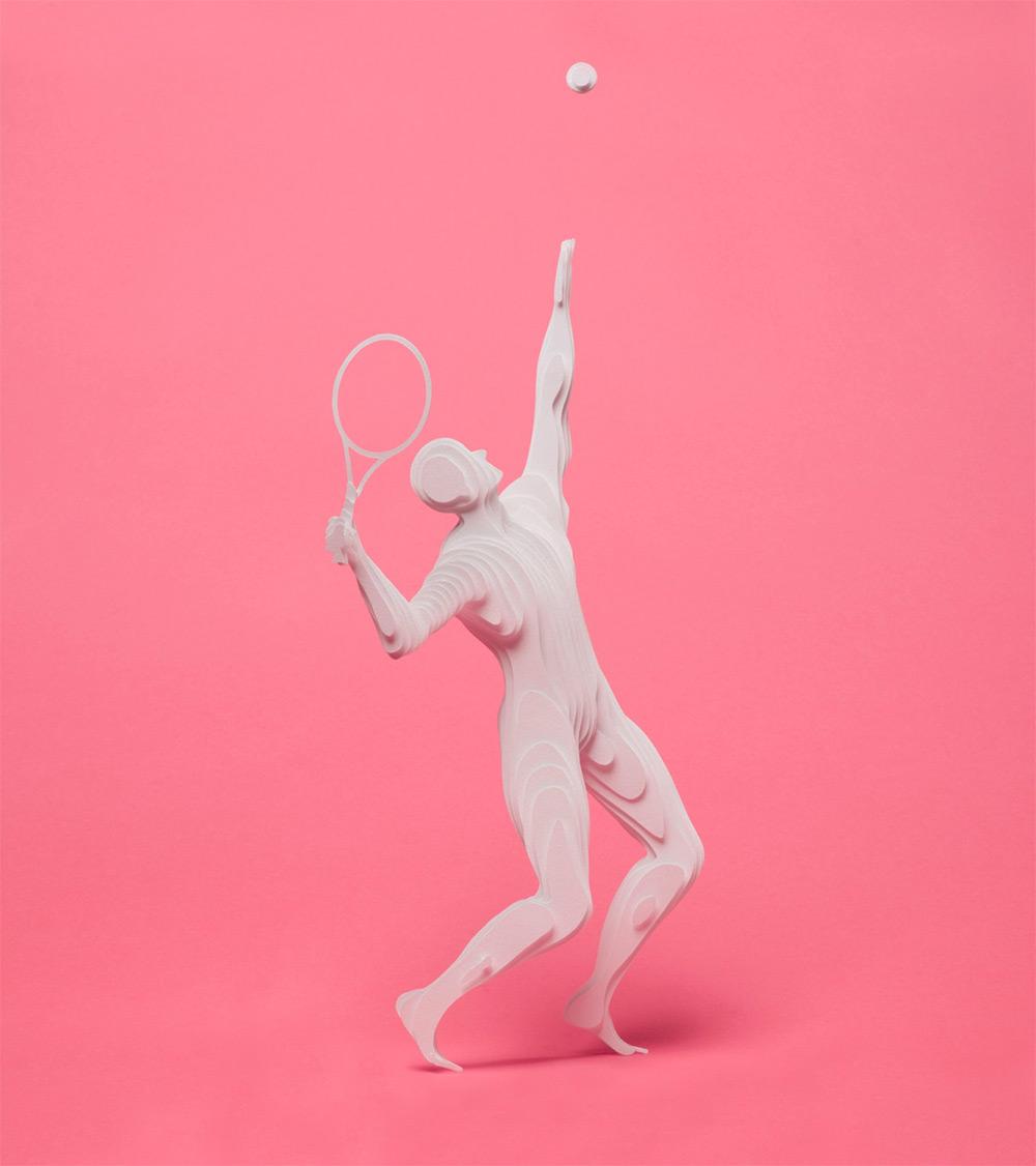 Le discipline olimpiche della paper artist Raya Sader Bujana | Collater.al 5