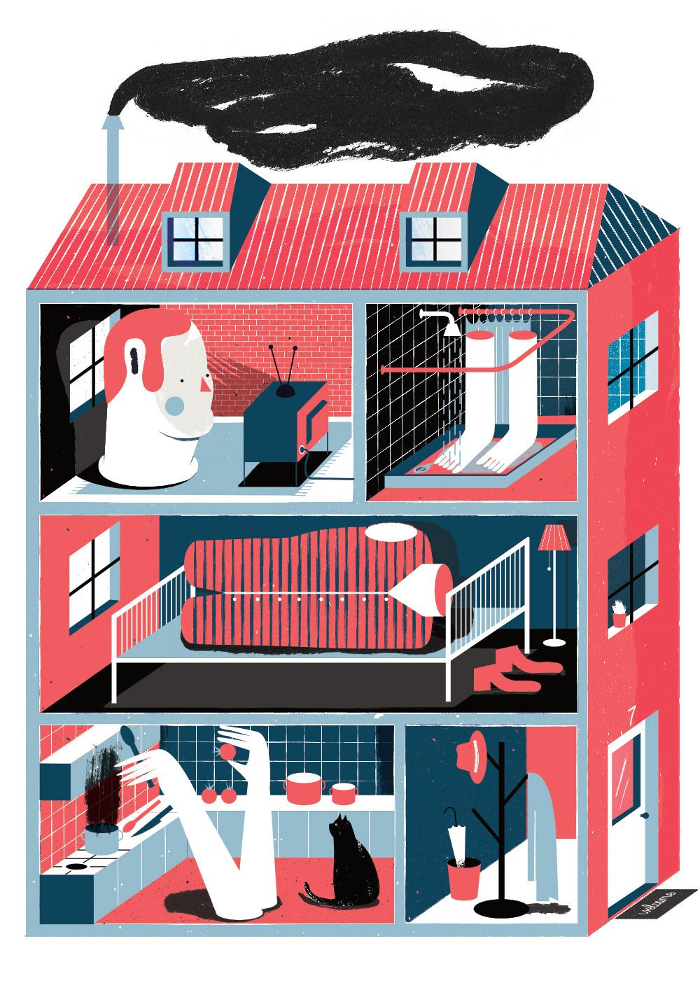 Le vivaci illustrazioni di Tiago Galo | Collater.al 1
