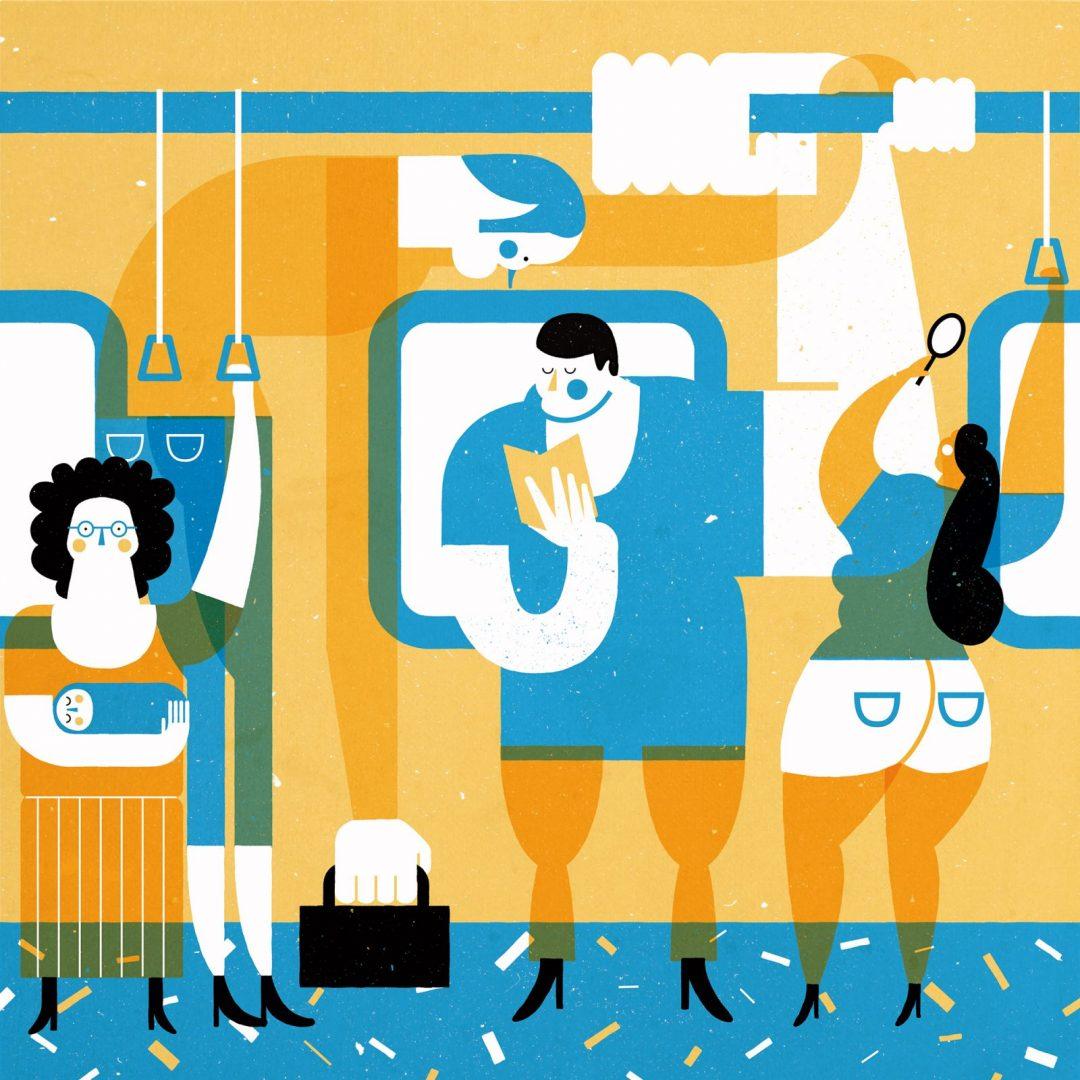 Le vivaci illustrazioni di Tiago Galo