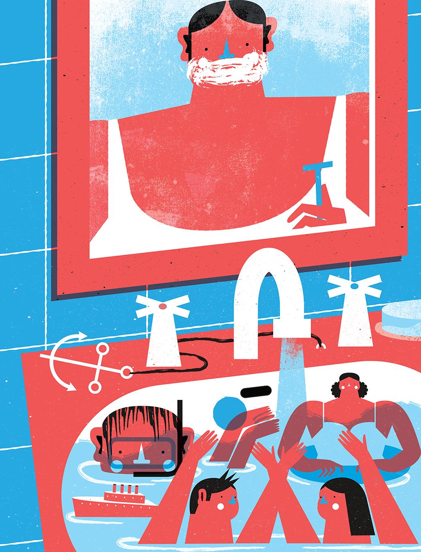 Le vivaci illustrazioni di Tiago Galo | Collater.al 16