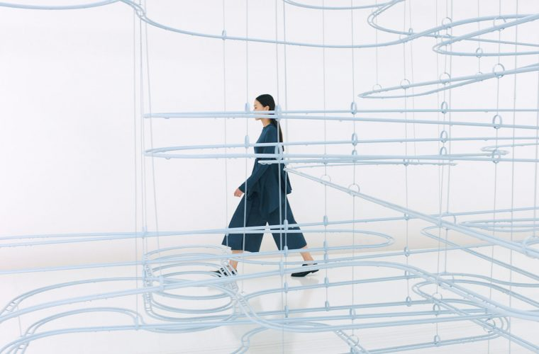 Loop, COS x Snarkitecture installation based on the childhood memory of marble games