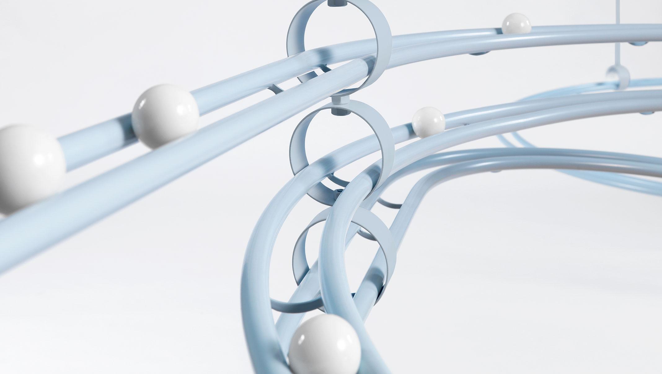 Loop, l'installazione di COS x Snarkitecture che ricorda il gioco delle biglie | Collater.al 6