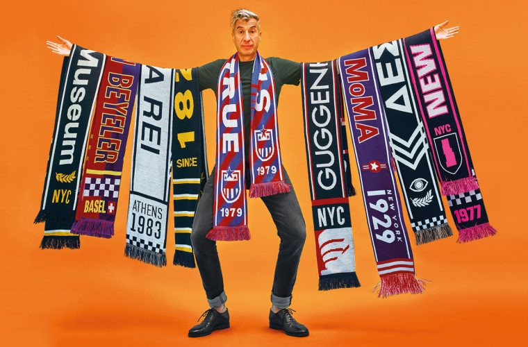 Museums League, Maurizio Cattelan scarves collection dedicated to museums