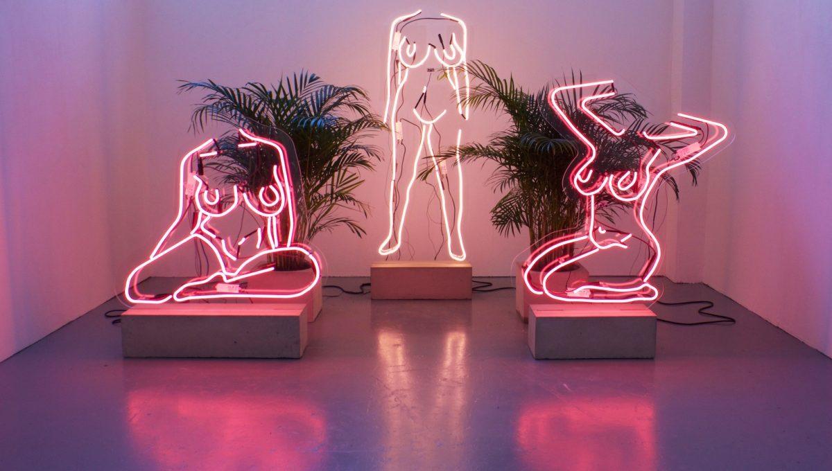 Utopias (IRL//URL), Romily Alice Walden neon bodies