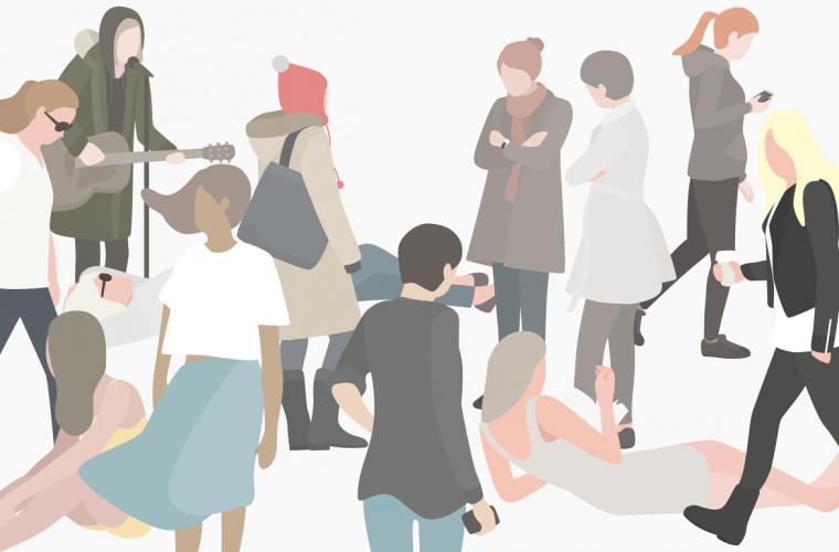 12 women, a project by illustrator Heuicheon Yang