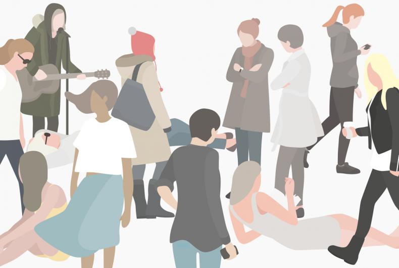 12 women, le donne dell'illustratore Heuicheon Yang