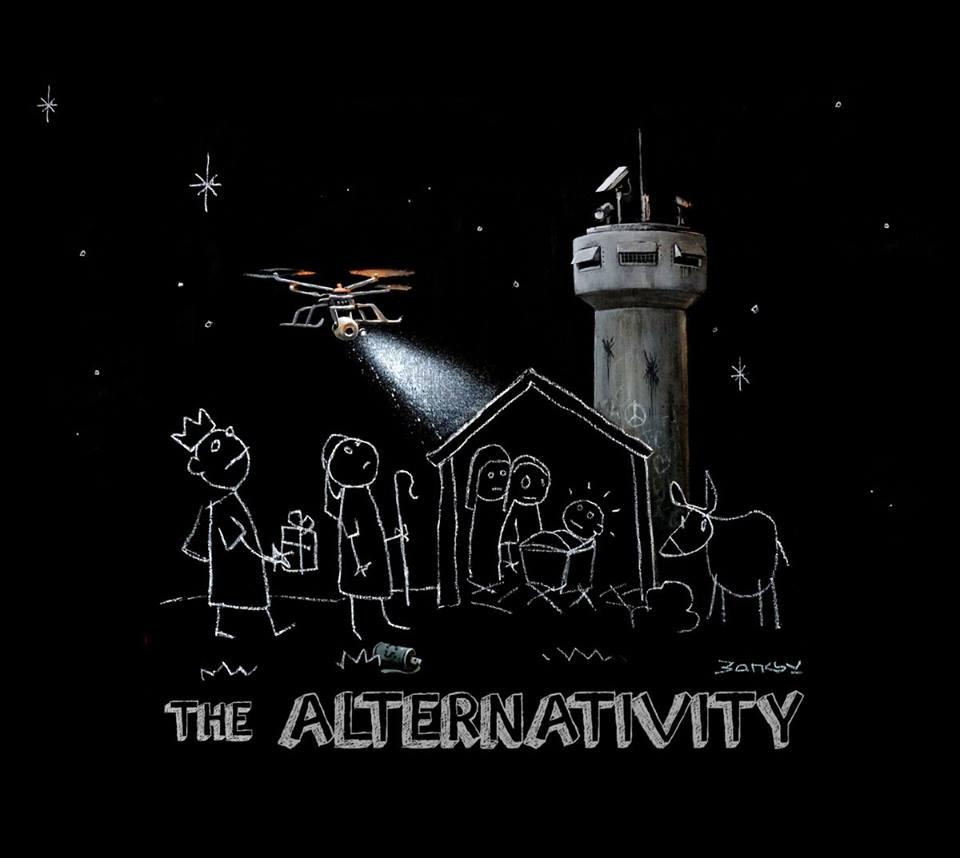 Banksy x Danny Boyle The Alternativity | Collater.al 2