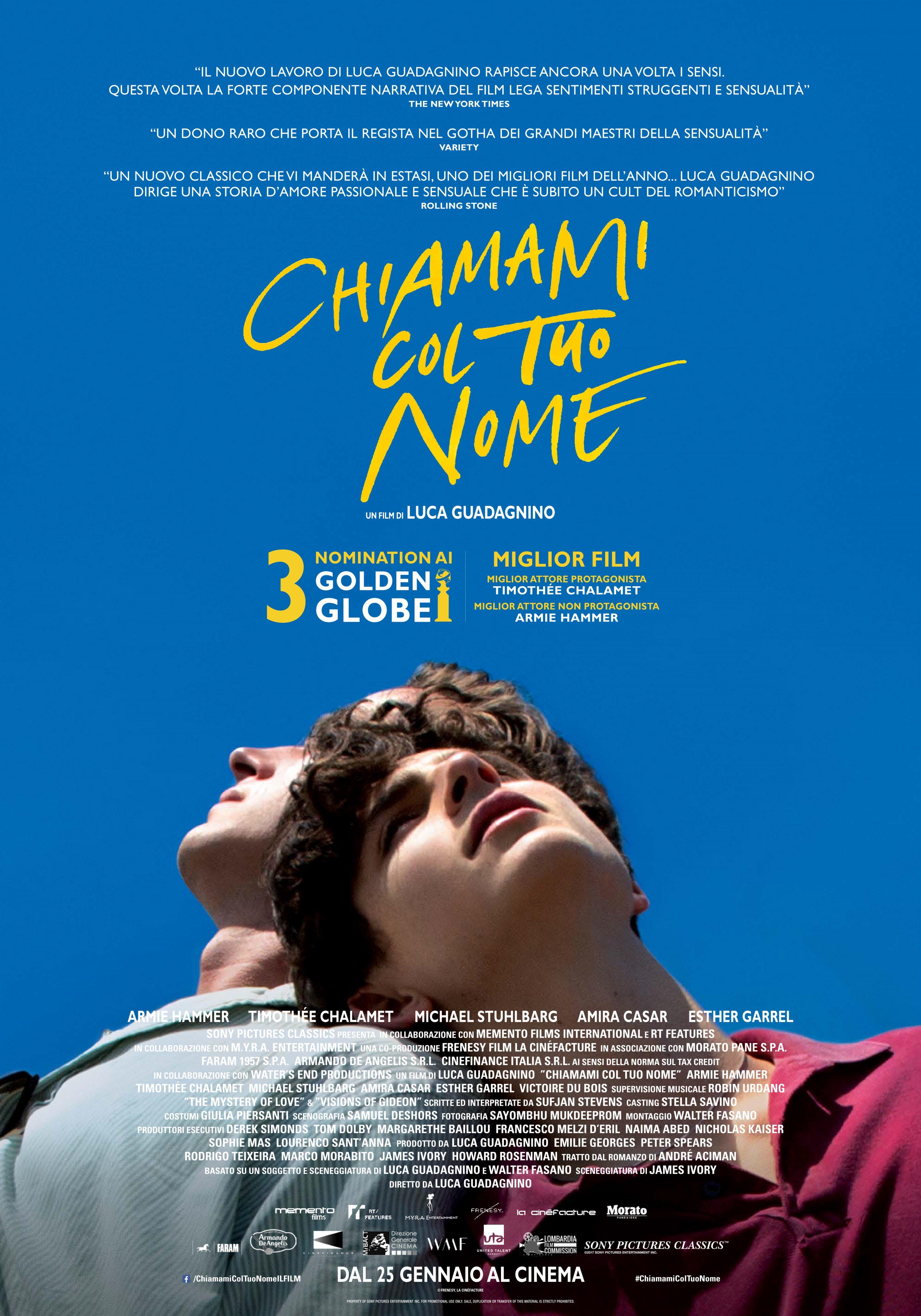 Sufjan Stevens firma la colonna sonora per il film di Luca Guadagnino
