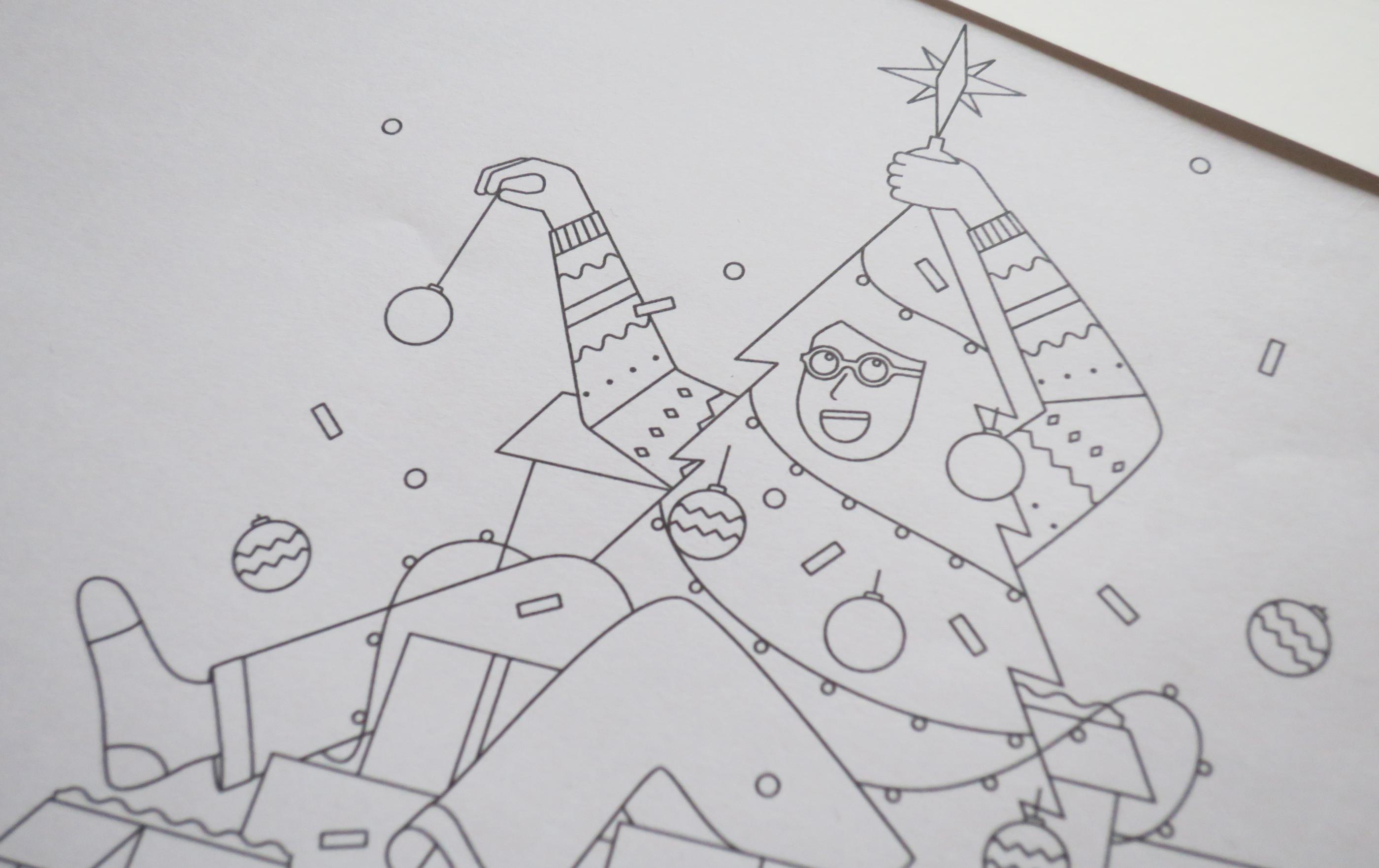 L'illustrazione natalizia di Nico189 per Swatch | Collater.al 4