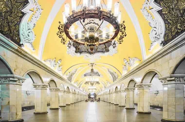 Le stazioni della metropolitana russa di David Burdeny