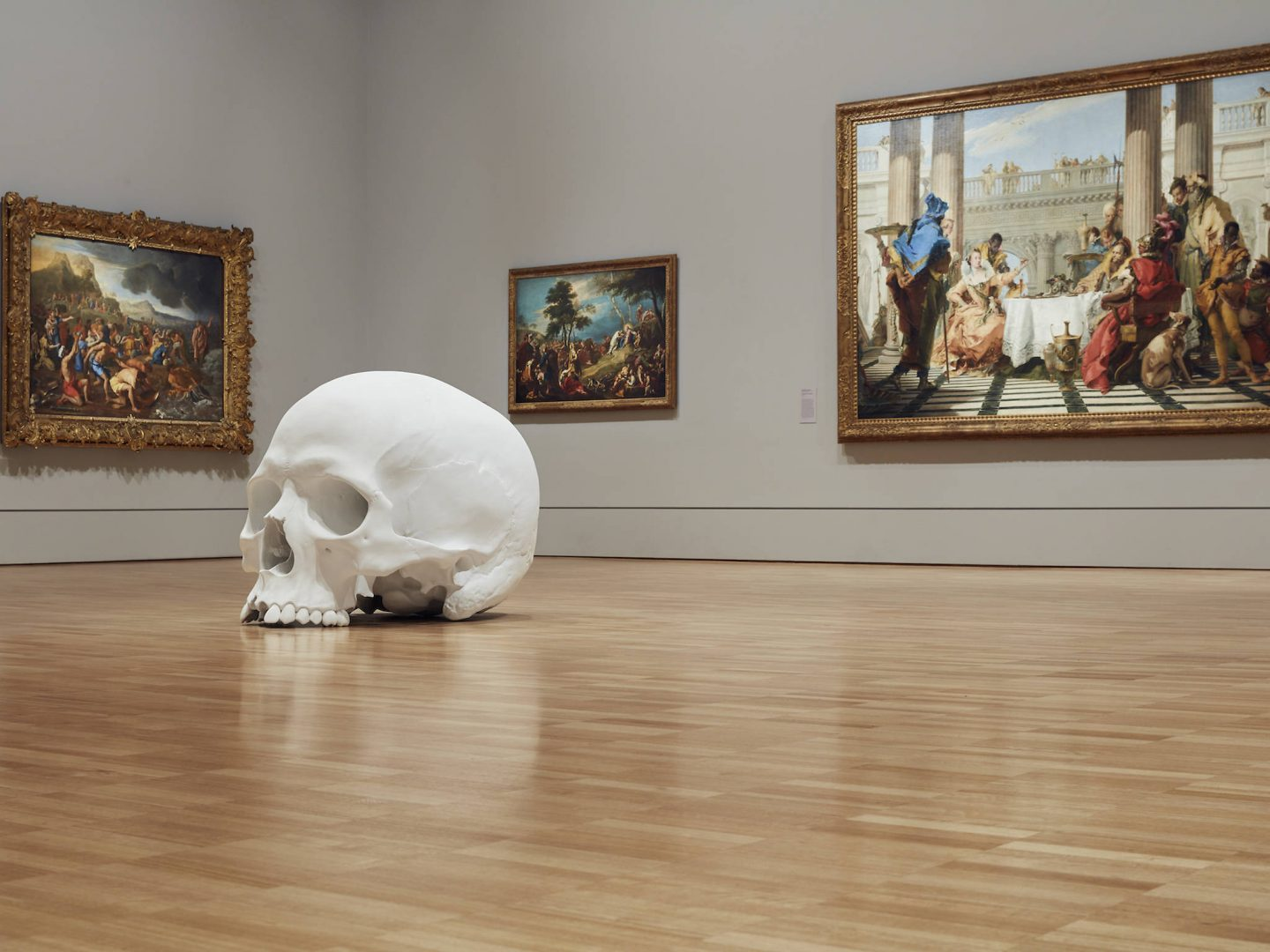 mass ron mueck giant skulls collater al
