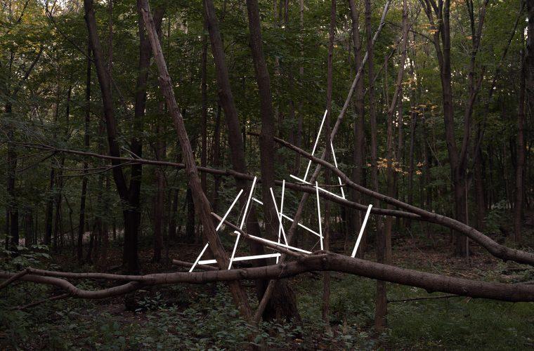 Memory Lapses, le installazioni temporanee di Francois Ollivier