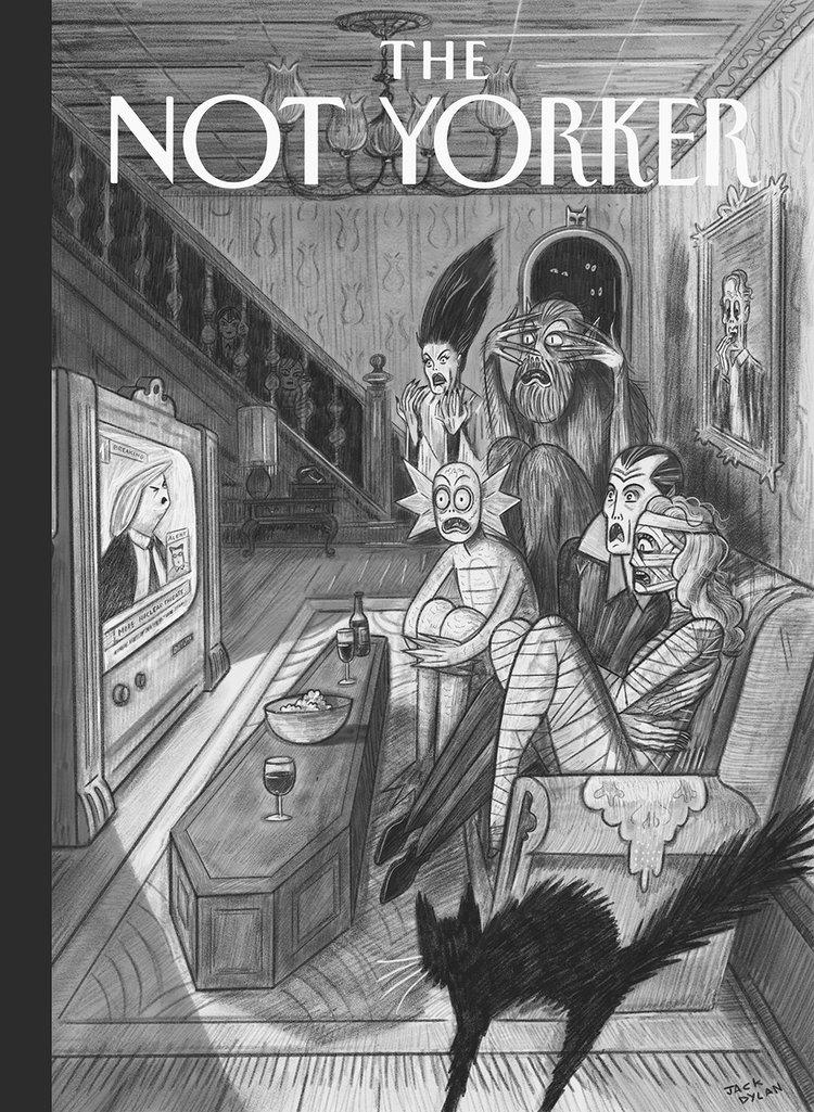 The Not Yorker, il sito che dà una seconda possibilità alle cover rifiutate dal New Yorker | Collater.al 3