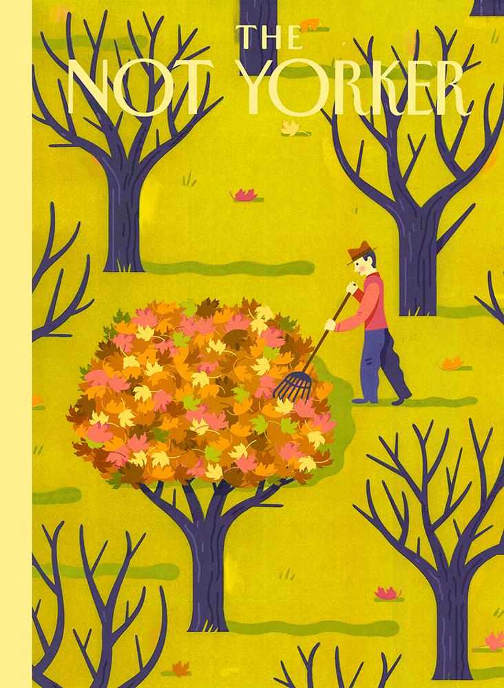 The Not Yorker, il sito che dà una seconda possibilità alle cover rifiutate dal New Yorker | Collater.al 5