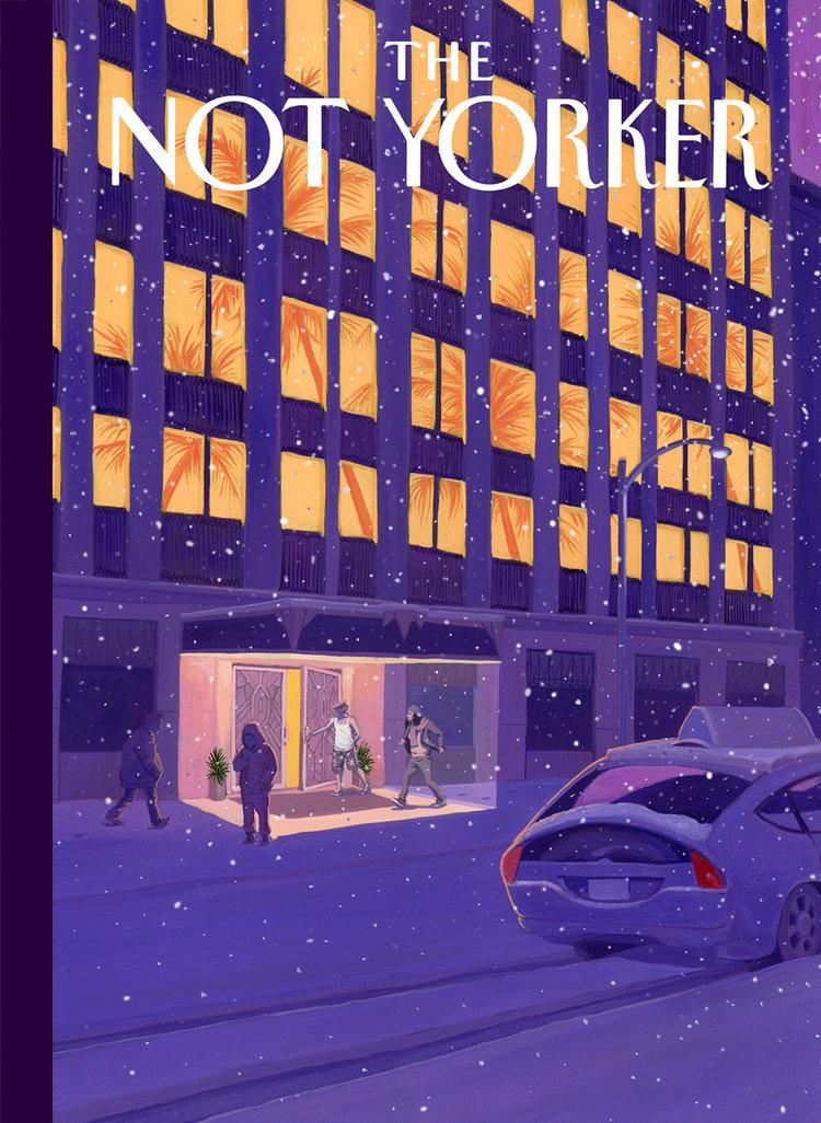 The Not Yorker, il sito che dà una seconda possibilità alle cover rifiutate dal New Yorker | Collater.al 6
