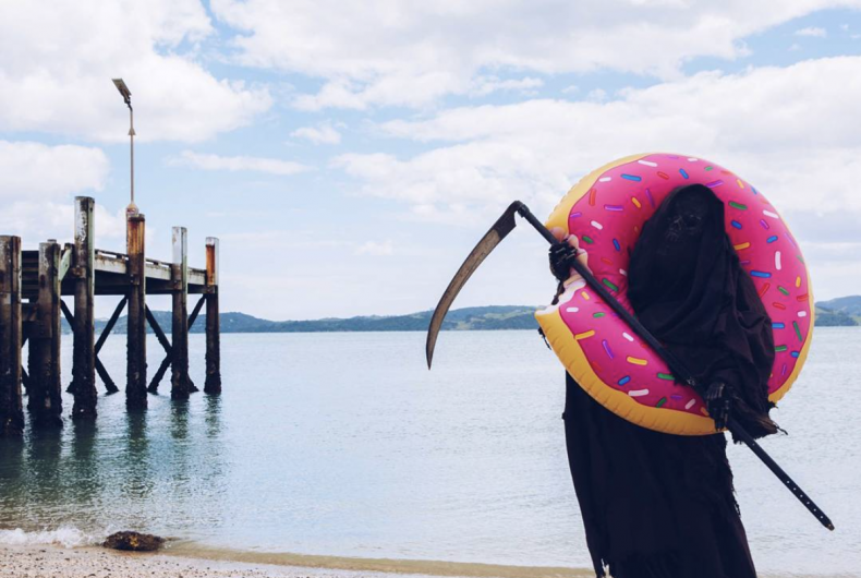 The Swim Reaper is the only account you should follow on Instagram