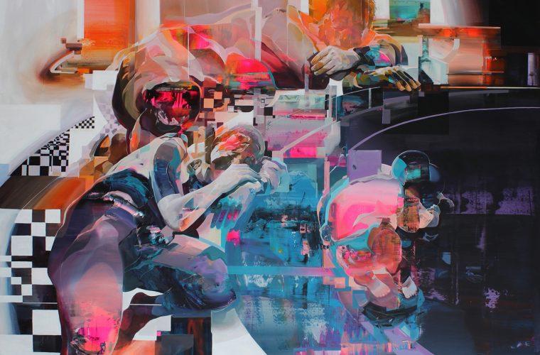 Al confine tra fine art e urban art con i quadri di Robert Proch