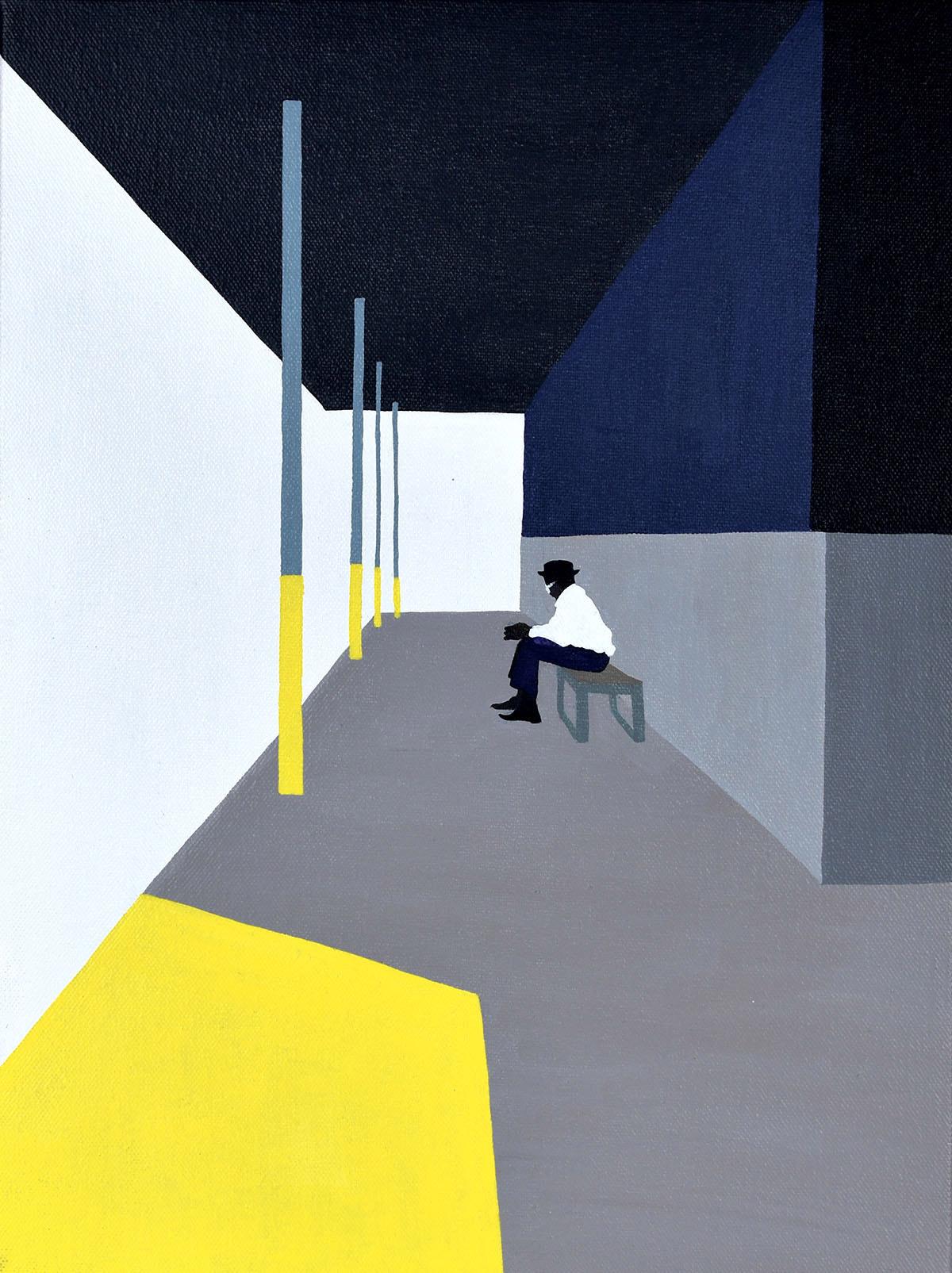 Backs, solitudine e isolamento nei dipinti di Gwen Yip | Collater.al 2