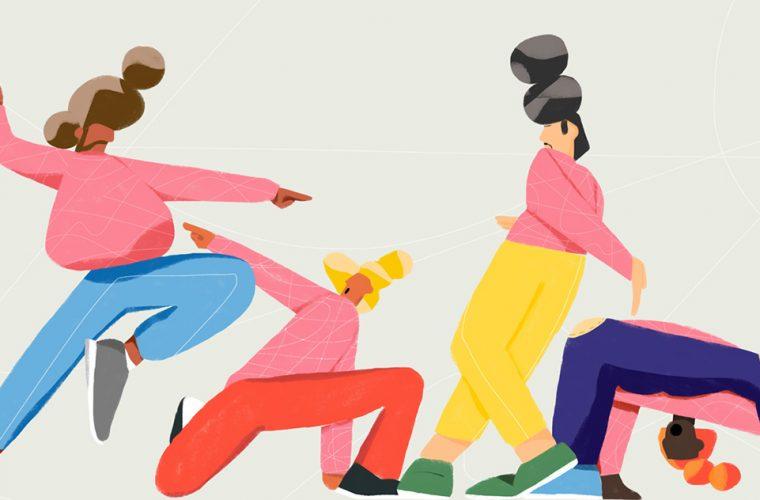 Sebastian Curi's colorful street dancers