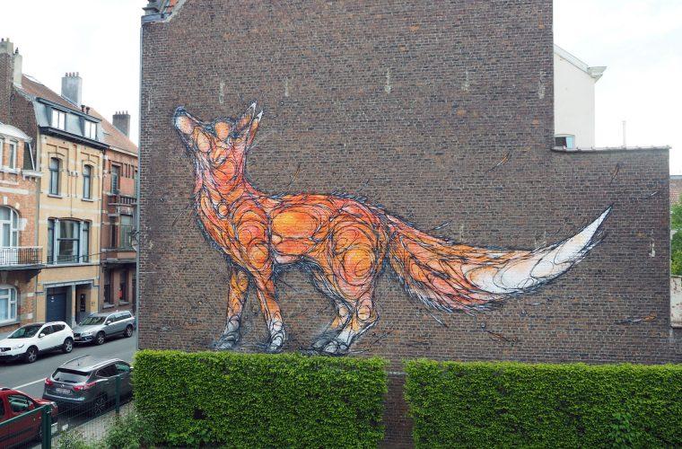 I murales selvatici di Dzia