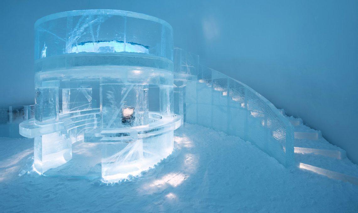 Icehotel, the ice-sculpted art hotel in Jukkasjärvi