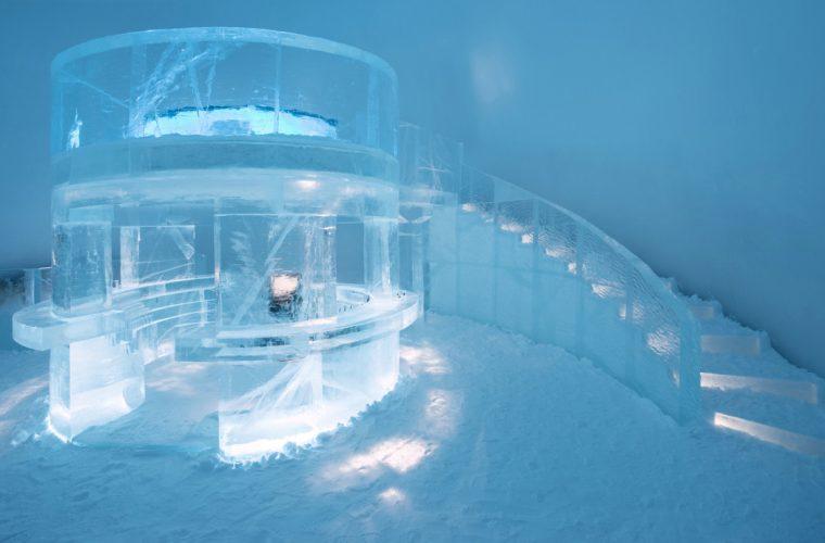 Icehotel, l'albergo artistico scolpito nel ghiaccio di Jukkasjärvi
