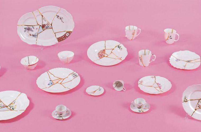 Kintsugi, la collezione di Marcantonio per Seletti ispirata al Giappone