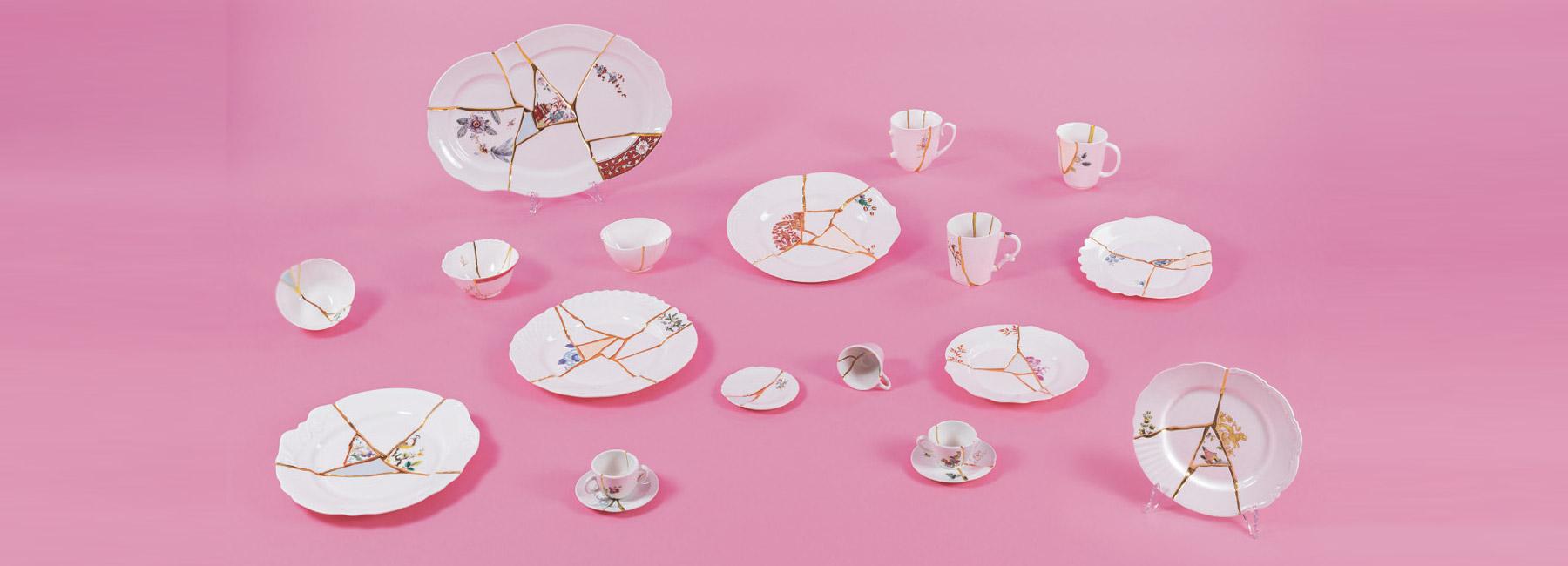 Kintsugi, la collezione di Marcantonio per Seletti ispirata al Giappone | Collater.al cover