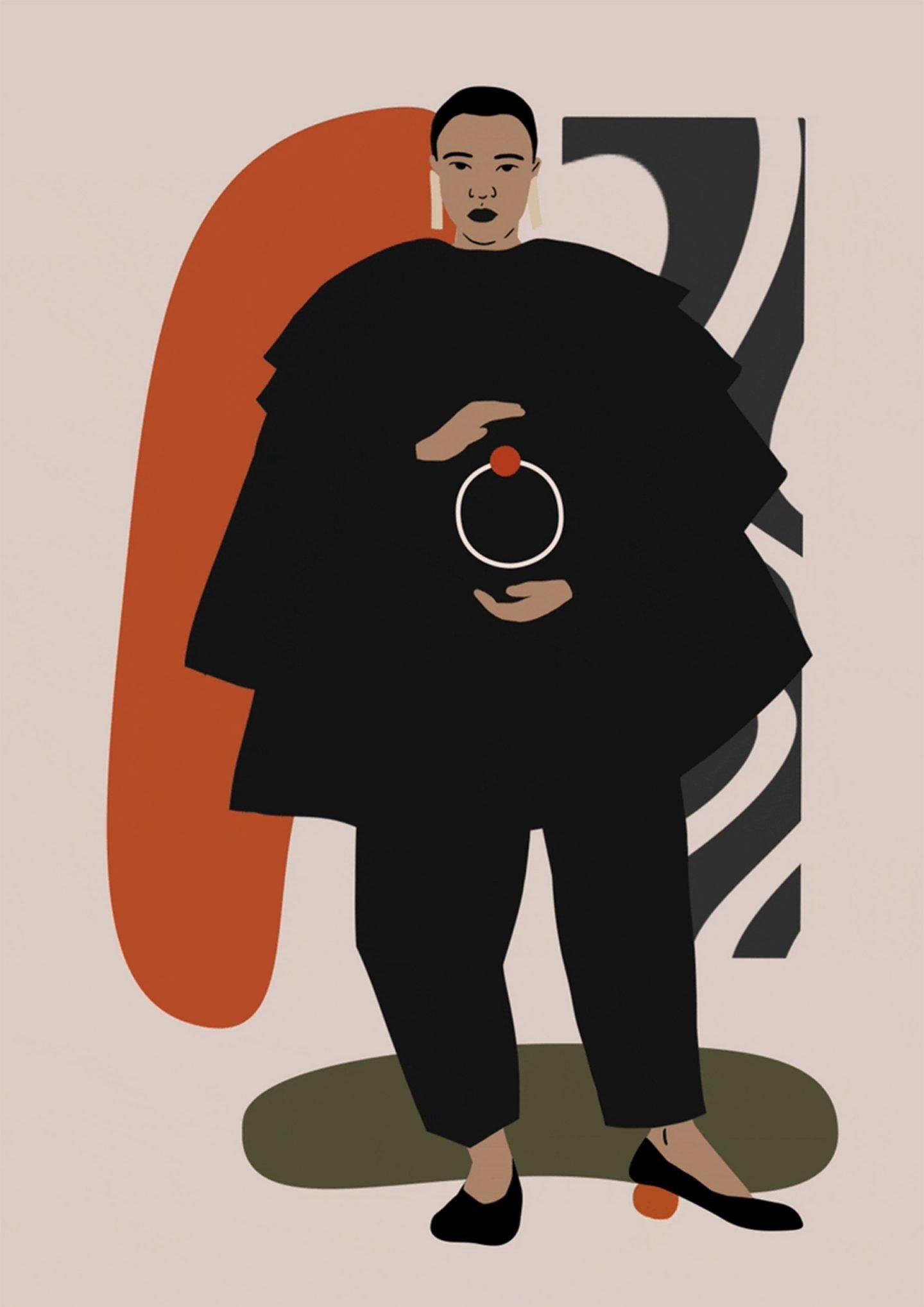L'esplorazione della forma femminile dell'illustratrice Daiana Ruiz | Collater.al 10